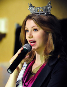 Alexis Wineman, former Miss Montana, Aspergers